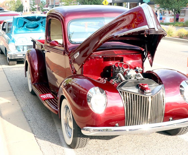 """Plenty of classic cars are expected Friday at """" Car Cruise-In & Eats"""" in downtown Sturgis, but the event also features live music and the """"Art Around Town"""" exhibit."""