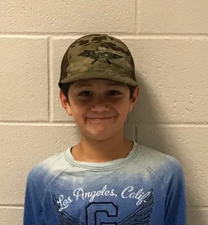 Mateo Valencia of Surf City Elementary is Pender County Schools' Student of the Week.