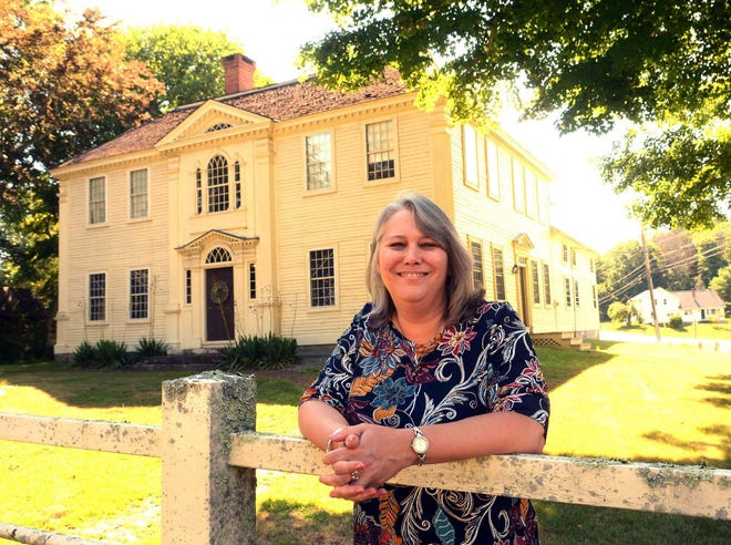 Joan DiMartino is curator of the Prudence Crandall Museum in Canterbury. A fundraising event is underway to install the first Toni Morrison bench in Connecticut there.