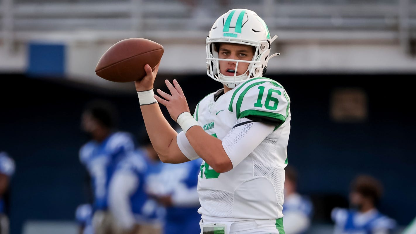 Five-star 2023 QB Arch Manning visiting Alabama, Clemson, Georgia, SMU and Texas in June