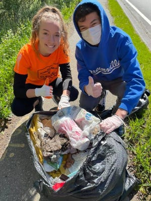 More than 200 volunteers took part in Keep Easton Beautiful's Clean-up Day on May 8.