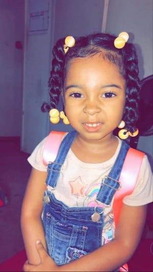 4-year-old Nahla Miller