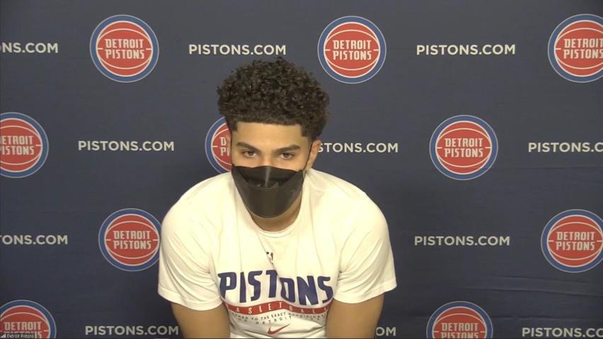 Detroit Pistons PG Killian Hayes' secret to success after career-best game vs. Bulls