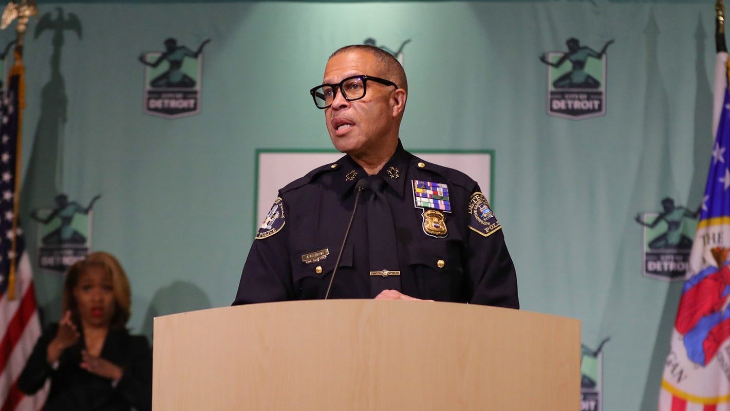 Detroit Police Chief James Craig to retire, won't say whether he's running for governor
