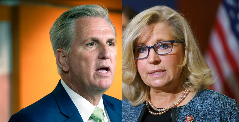 McCarthy sets Wednesday vote on Liz Cheney leadership ouster 1