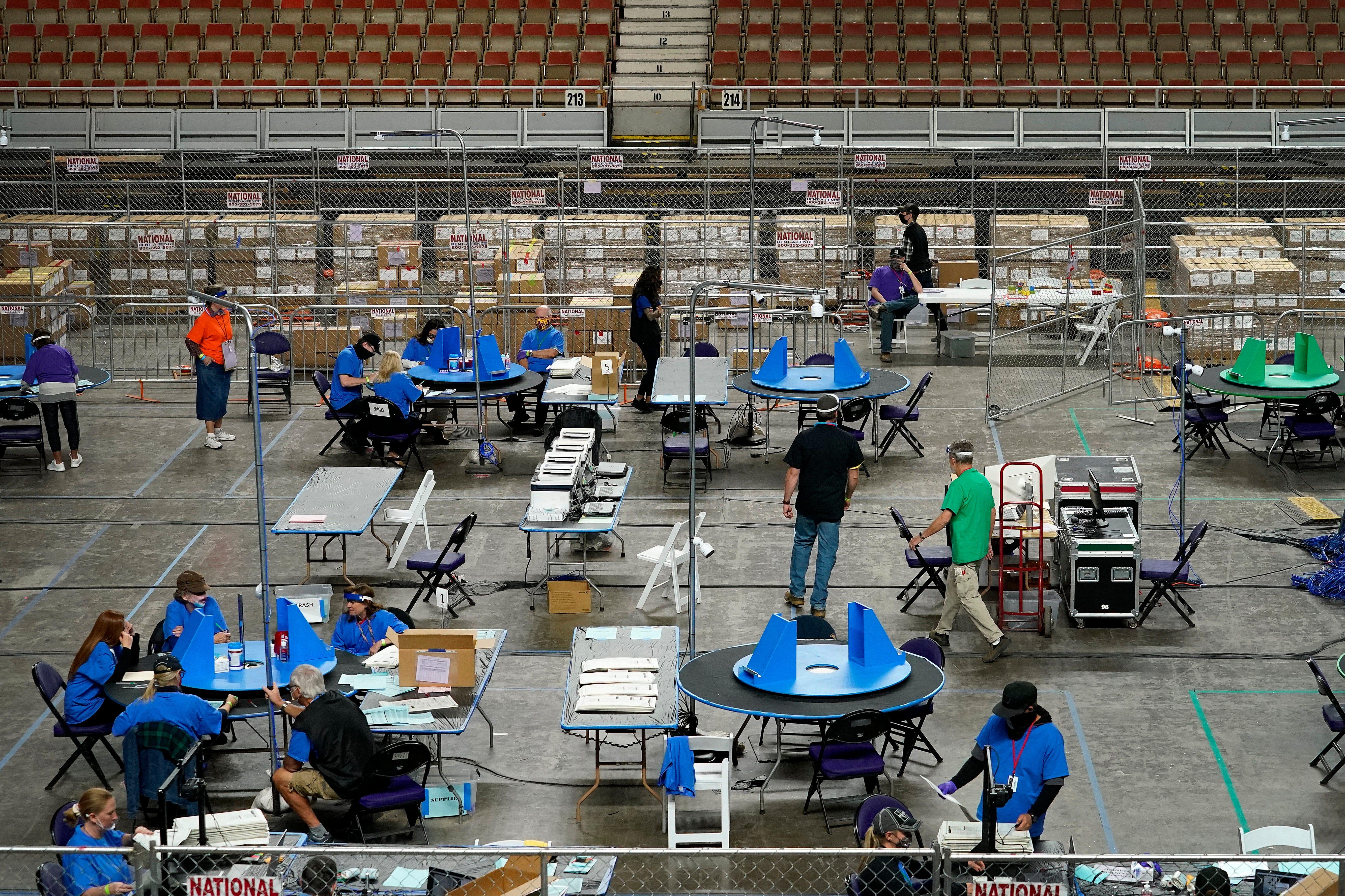 Inside Arizona's election audit, GOP fraud fantasies live on 2