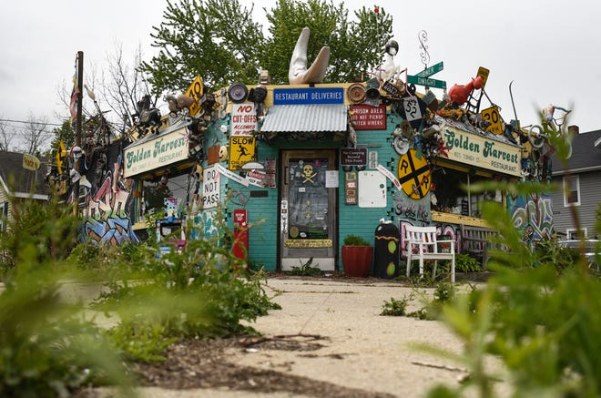 The Golden Harvest restaurant, pictured Monday, May 10, 2021.