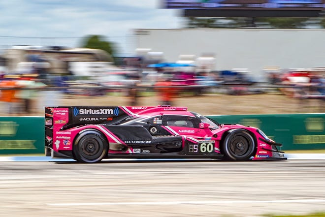 Meyer Shank Racing will look to win a race on it's home track at Mid-Ohio this weekend.