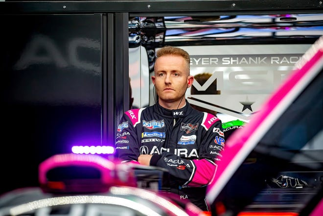 Olivier Pla will represent Meyer Shank Racing this weekend at Mid-Ohio.