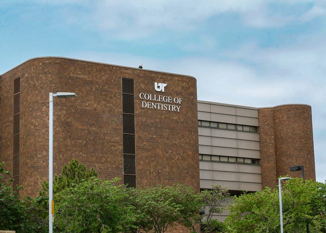 The University of Tennessee Health Science Center College of Dentistry Dunn Building on Monday, May 10, 2021.