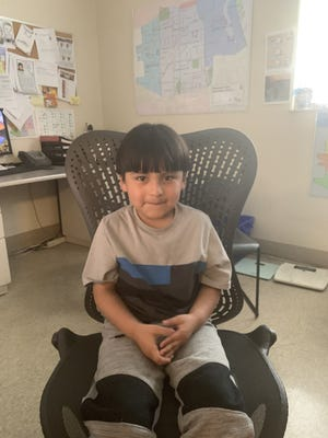 The Milwaukee Police Department is asking for the public's helpin locating the family members of thislost boy who was found.