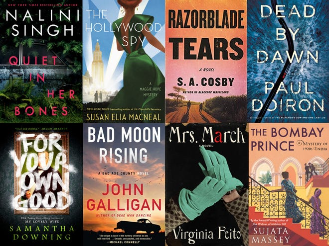 """Carole E. Barrowman's recommended new mysteries for summer 2021 include """"The Hollywood Spy"""" and """"Razorblade Tears."""""""
