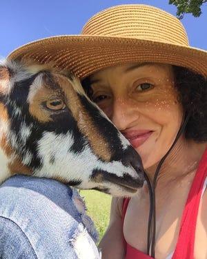 Scarlett Salamone went from special education teacher to farmer at Loveland Acres Farm in Elkhorn.