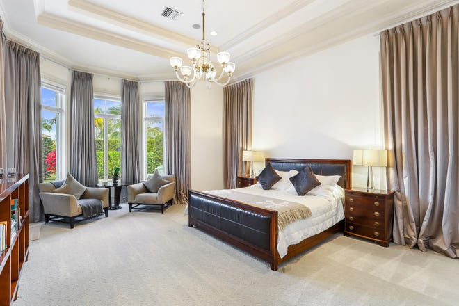 Rooms with a view, seating areas and spacious baths make luxury master suites a place to restore, renew and relax.