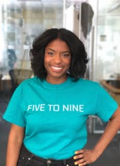 Five to Nine Co-founder and CEO Jasmine Shells.