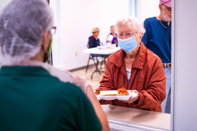 Council on Aging senior dining sites reopen after more than a year.