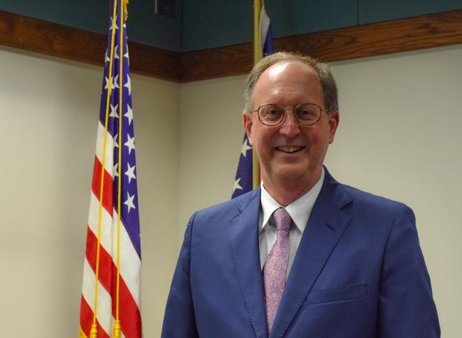 """Judge Frederick """"Fritz"""" Hany II hopes to focus his experience as a municipal court judge on helping local youths improve their lives so they can stay out of the courtroom as adults. Judge Hany assumed his duties as Ottawa County Juvenile and Probate Judge in January."""