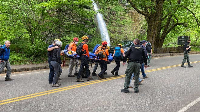 Search and rescue crews have found a 71-year-old hiker reported missing in the Columbia River Gorge alive on Monday, May 10, 2021.