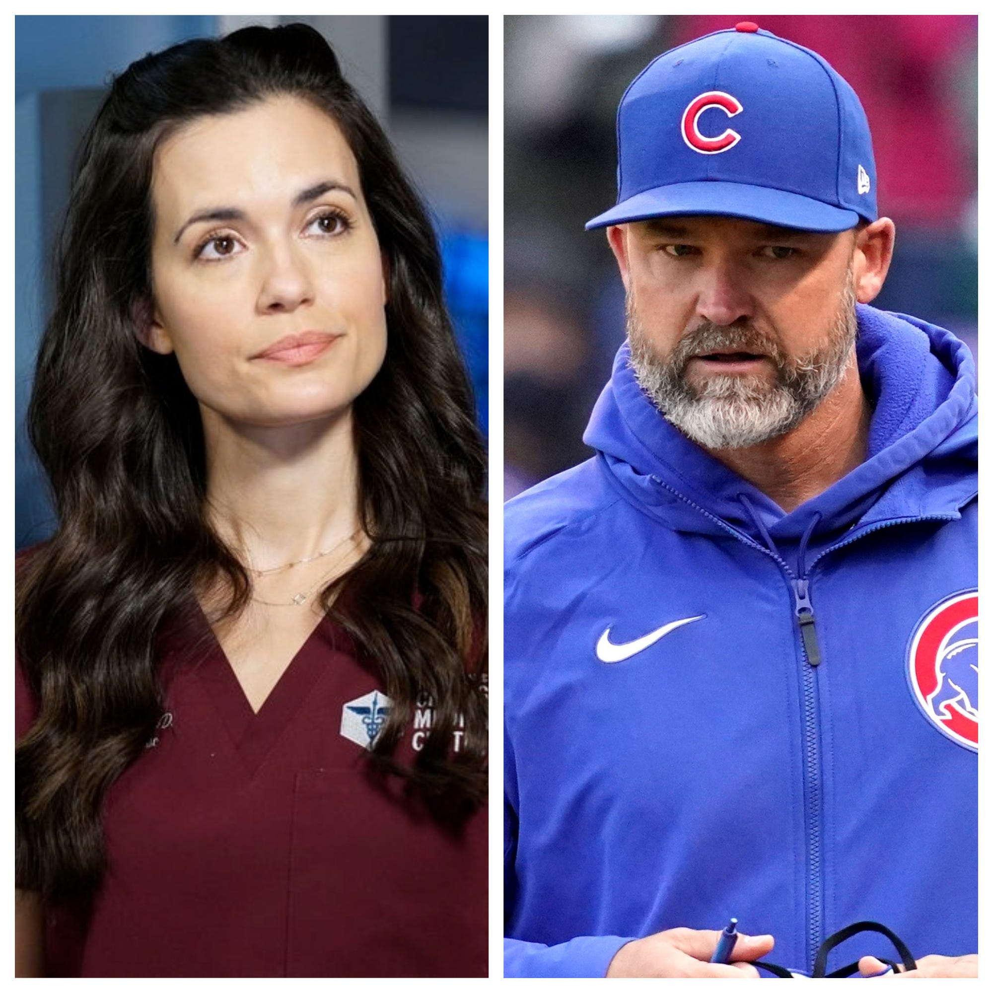 Chicago Med s Torrey DeVitto steps out with Chicago Cubs manager David Ross:  Love him madly