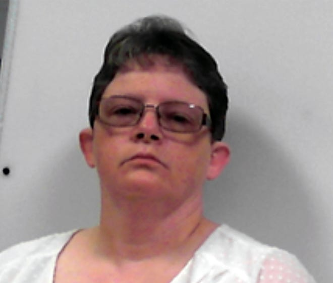 This photo released July 14, 2020, by the West Virginia Regional Jail and Correctional Facility Authority shows Reta Mays. Mays, a former nursing assistant at the Louis A. Johnson VA Medical Center in Clarksburg, W.V., is scheduled to be sentenced Tuesday, May 11, 2021, for her guilty plea to intentionally killing seven patients with fatal doses of insulin.