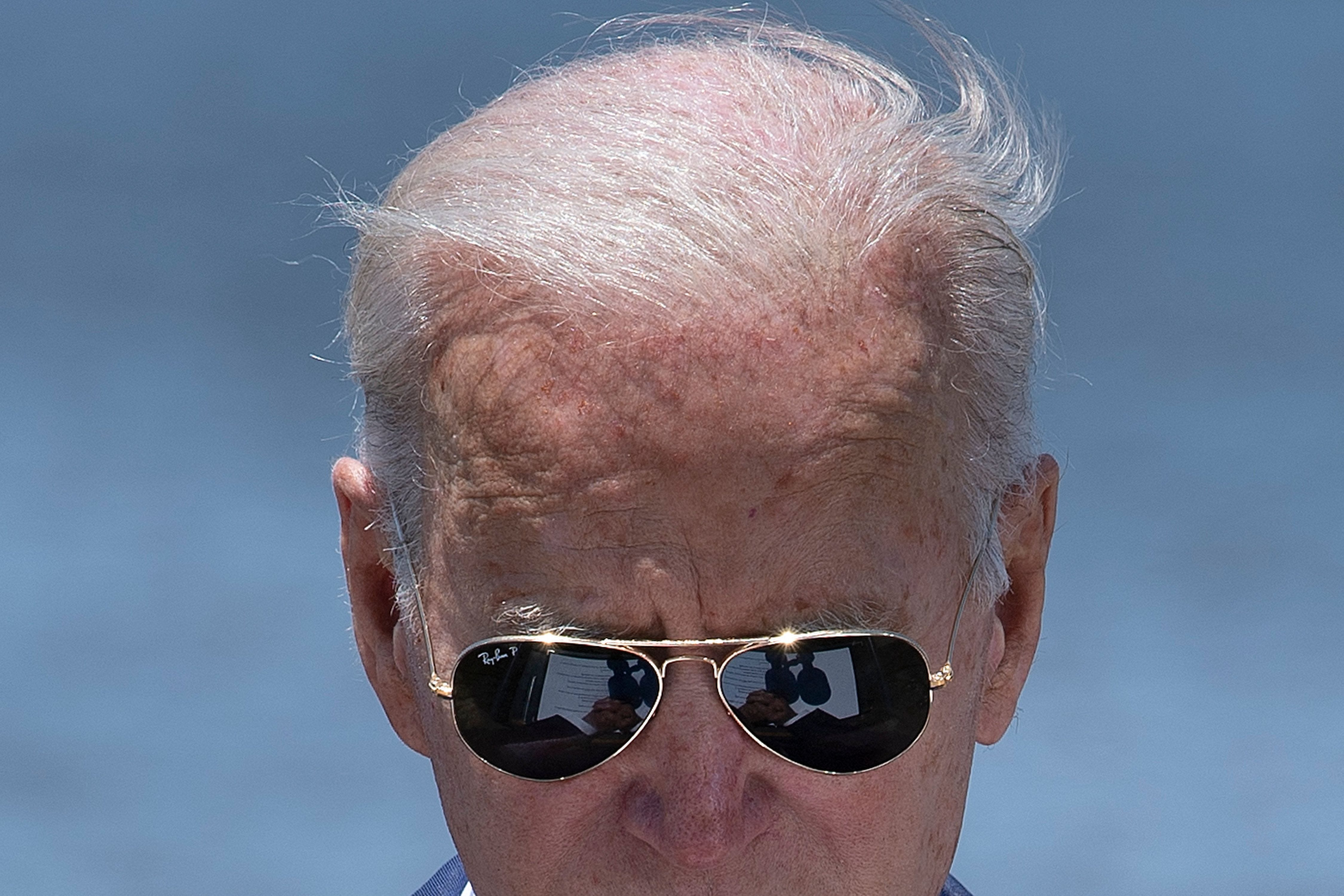 'Reassuringly retro': It may not be formal, but Joe Biden isn't giving up his favorite sunglasses at official functions