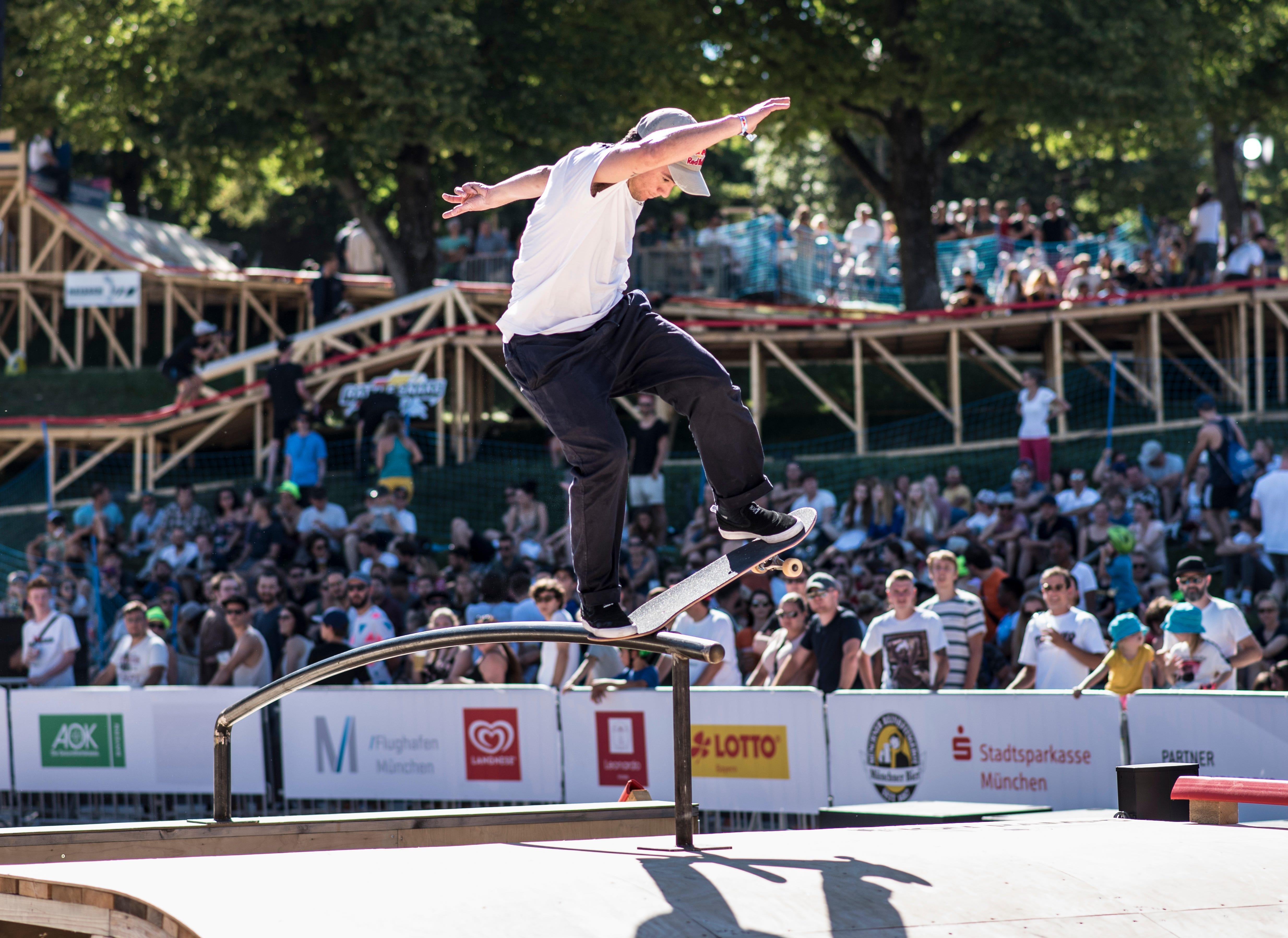 Skater Alex Sorgente describing his sport