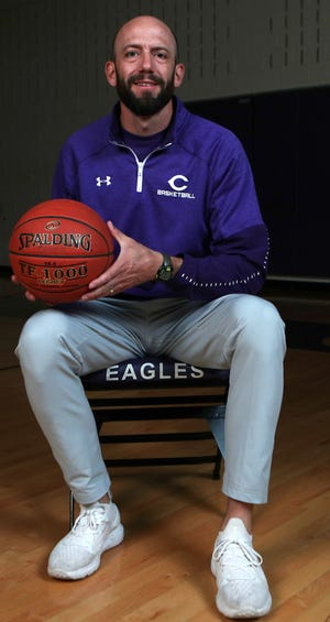 Canyon coach Tate Lombard was named the Amarillo Globe-News' Girls Basketball Coach of the Year.