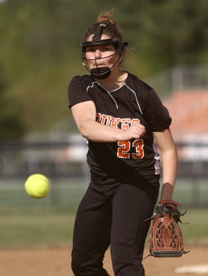 Sofia Nase allowed just three hits to Alliance in Marlington's 4-2 victory on Saturday.