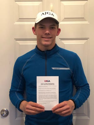 Ashland High's Tyler Sabo competed at the 121st U.S. Open local qualifying round at Beechmont Country Club in Beachwood on May 4. Sabo finished tied for sixth place in the 120-player field.