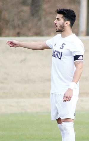 Julio Belo has been a rock of leadership and and a fountain of talent for the Oklahoma Wesleyan University men's soccer team.