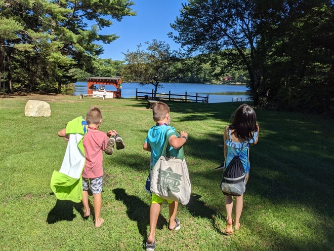 Campers are excited to experience overnight camping at Camp Marshall this summer.