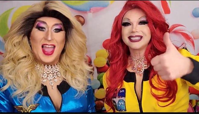 Lady Sabrina and Dahlia Page