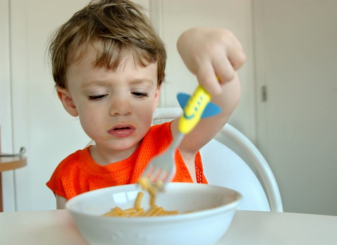 Lower levels of picky eating were associated with parents who impose few restrictions on food and a lack of pressure to eat.