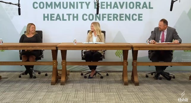 This year's Community Behavioral Health Conference included talks by area employers about way to encourage a culture that supports worker mental health needs.