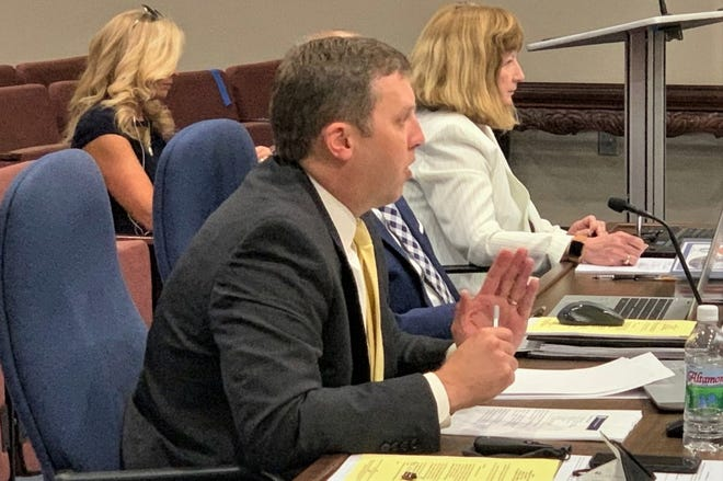 Spartanburg County Administrator Cole Alverson presented the 2021-2022 spending plan to county council Monday.