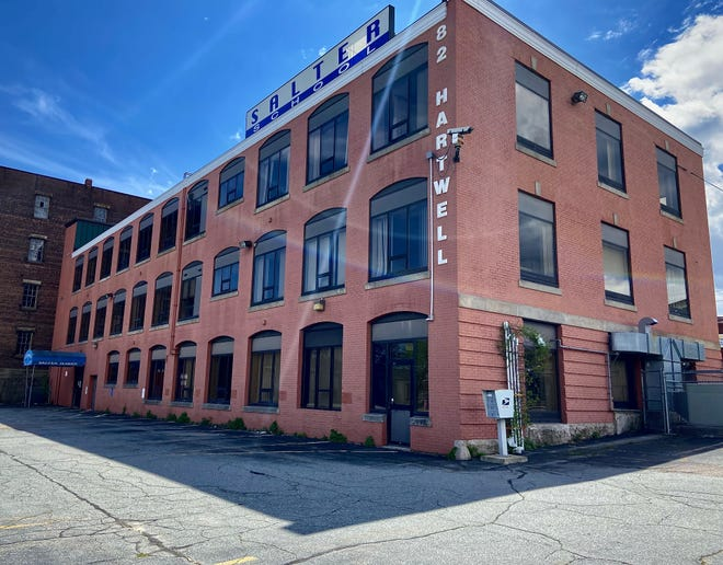 Former Fall River mayor Will Flanagan and his two partners plan to open a recreational marijuana dispensary in this building at 82 Hartwell St.