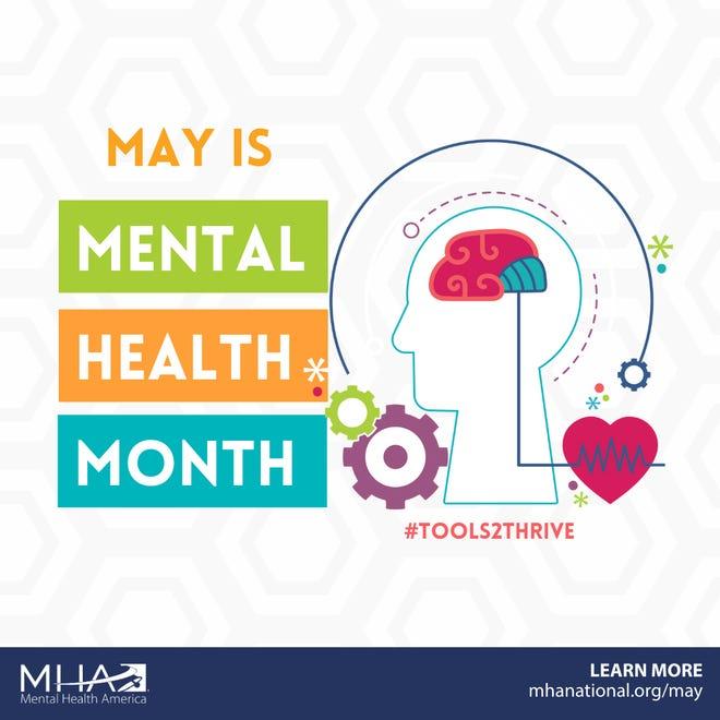 Mental Health America began recognizing May as Mental Health Month in 1949.