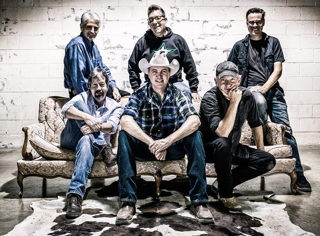 Pictured are the members of Cooder Graw. Carmen Acciaioli, Danny Crelin, Kelly B. Test, Kelly Turner, Matt Martindale and Paul Baker. The group is scheduled to perform this weekend at the Go Big or Go Home BBQ Bash in Plainview.