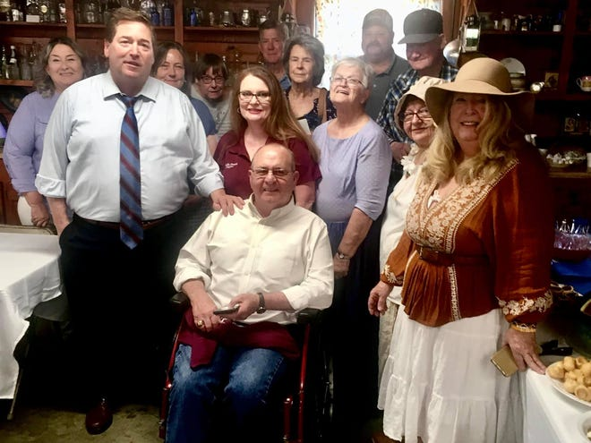 There was a packed house at the Merryville Museum last week, as Lieutenant Governor Billy Nungesser paid Merryville a visit.