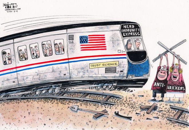 Today's editorial cartoon (May 12, 2021)