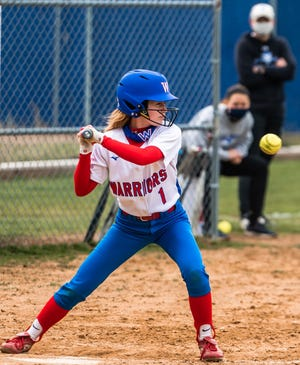 Winnacunnet junior Emily Graceffa had one hit and one RBI in Monday's 13-1 Division I win over Spaulding.