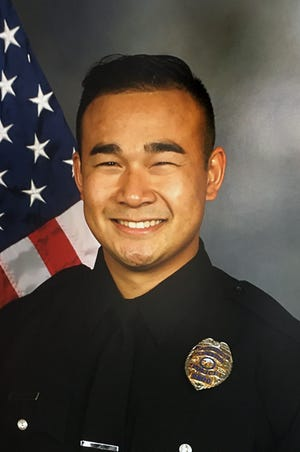 Stockton Police officer Jimmy Inn was shot and killed in the line of duty while on a domestic dispute call on La Cresta Way in Stockton on Tuesday, May 11, 2021.