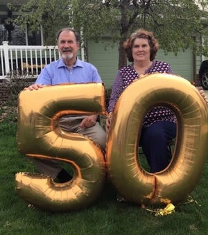 John and Janice Evanovich of Rootstown recently celebrated their 50th wedding anniversary.