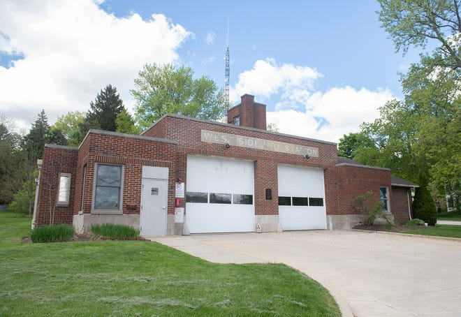 West Side Fire Station new pitched roof discussion.