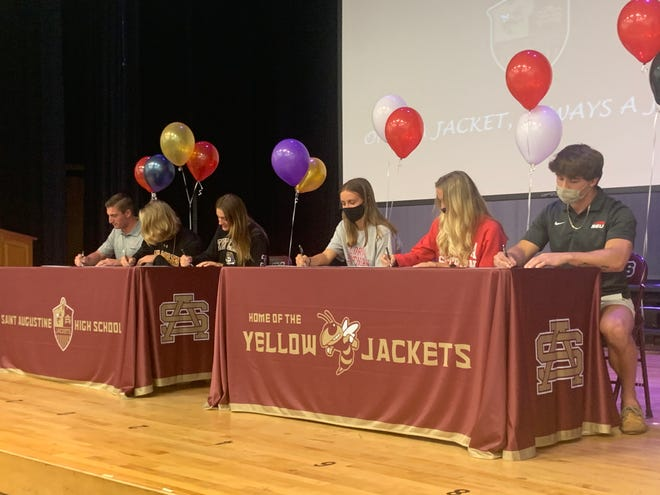 Six more athletes signed Monday, joining the five who previously signed earlier this year.