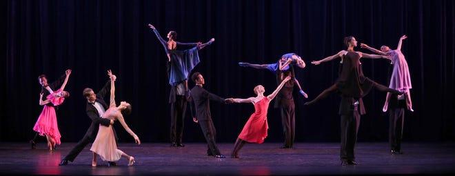 "Dancers from The Sarasota Ballet perform Twyla Tharp's ""Nine Sinatra Songs"" in the company's season-ending digital program."