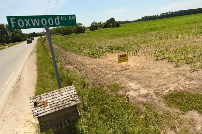 Timber Farms planned development is an 800-acre development community that is planned for the area of 231 Longwood Road NW near Ocean Isle Beach, N.C., in Brunswick County. Phase 1 is around Foxwood Lane NW.