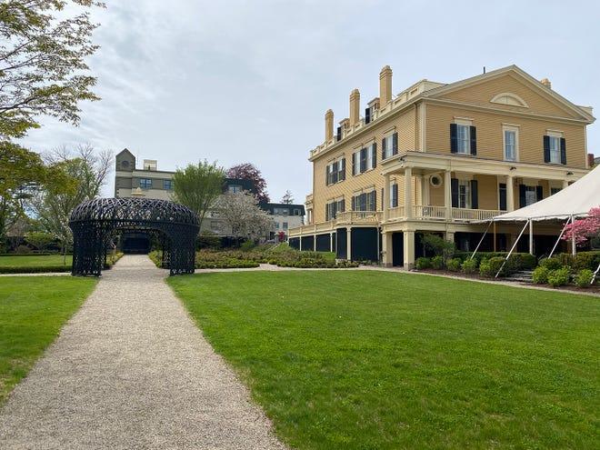 Rotch-Jones-Duff House Garden in New Bedford.
