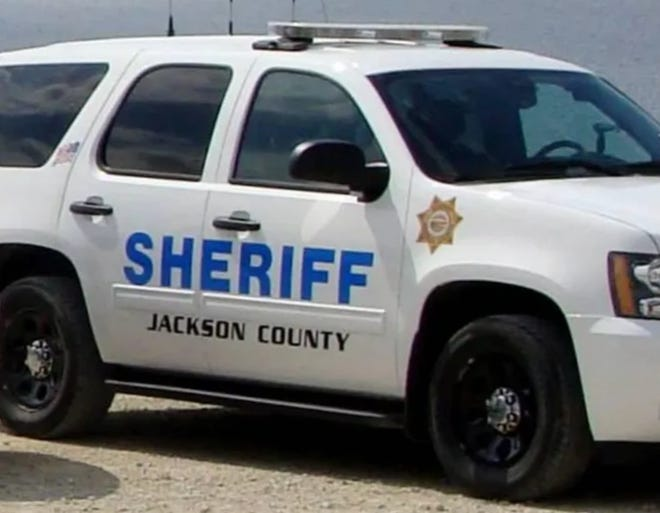 The Jackson County Sheriff's Office was investigating an explosion early Monday evening that completely leveled a house north of Holton, killing a man and seriously injuring a woman.