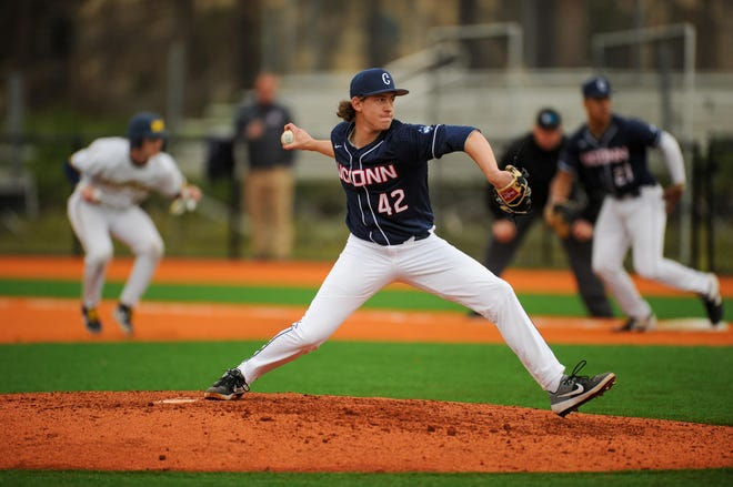 Former Leominster star Pat Gallagher has been shining at UConn.